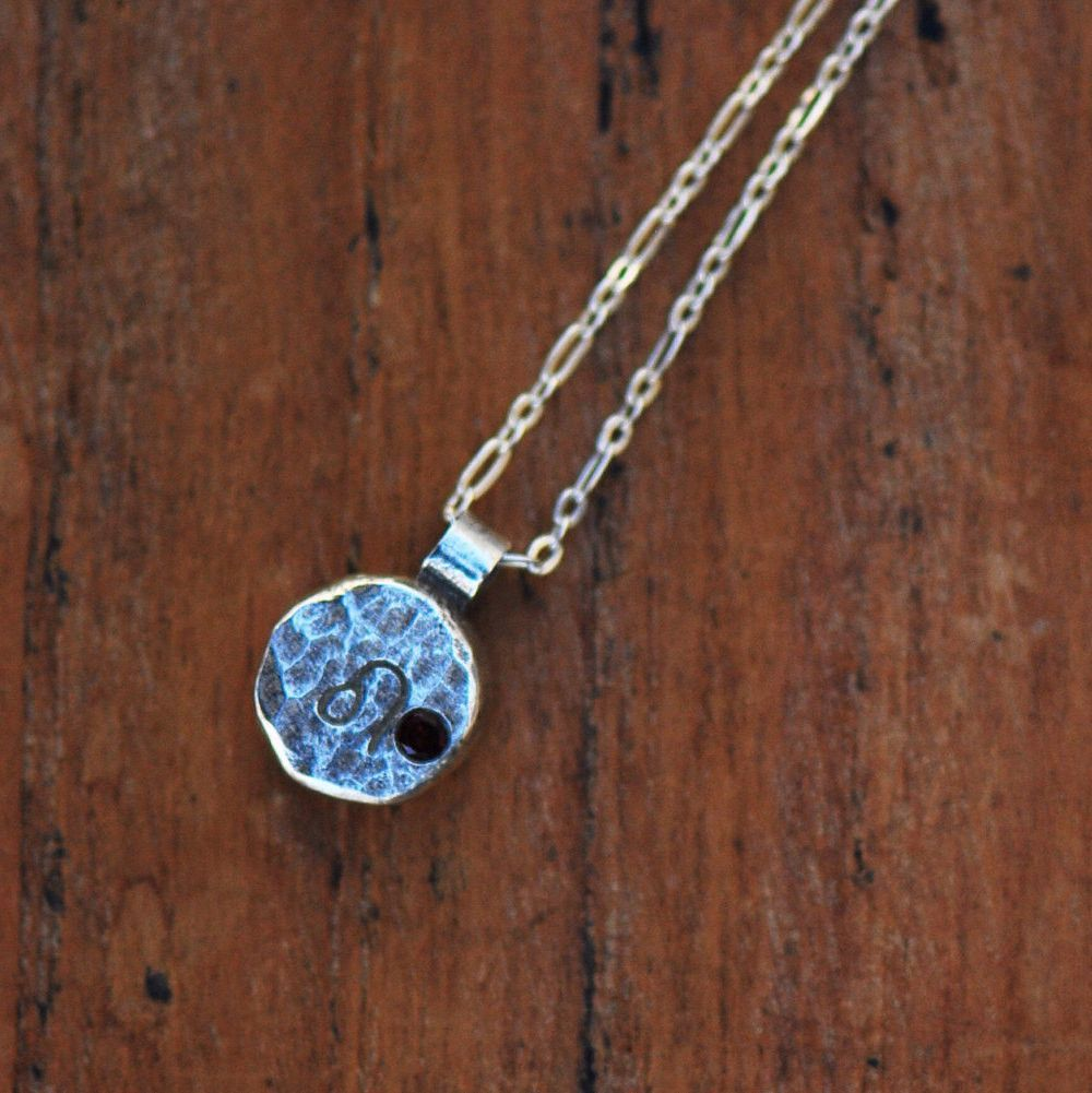 Elements leo zodiac necklace sterling silver leo zodiac and products