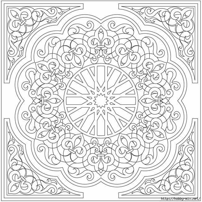 JG2cNlCR2PI.jpg (650×648)   Узоры   Pinterest