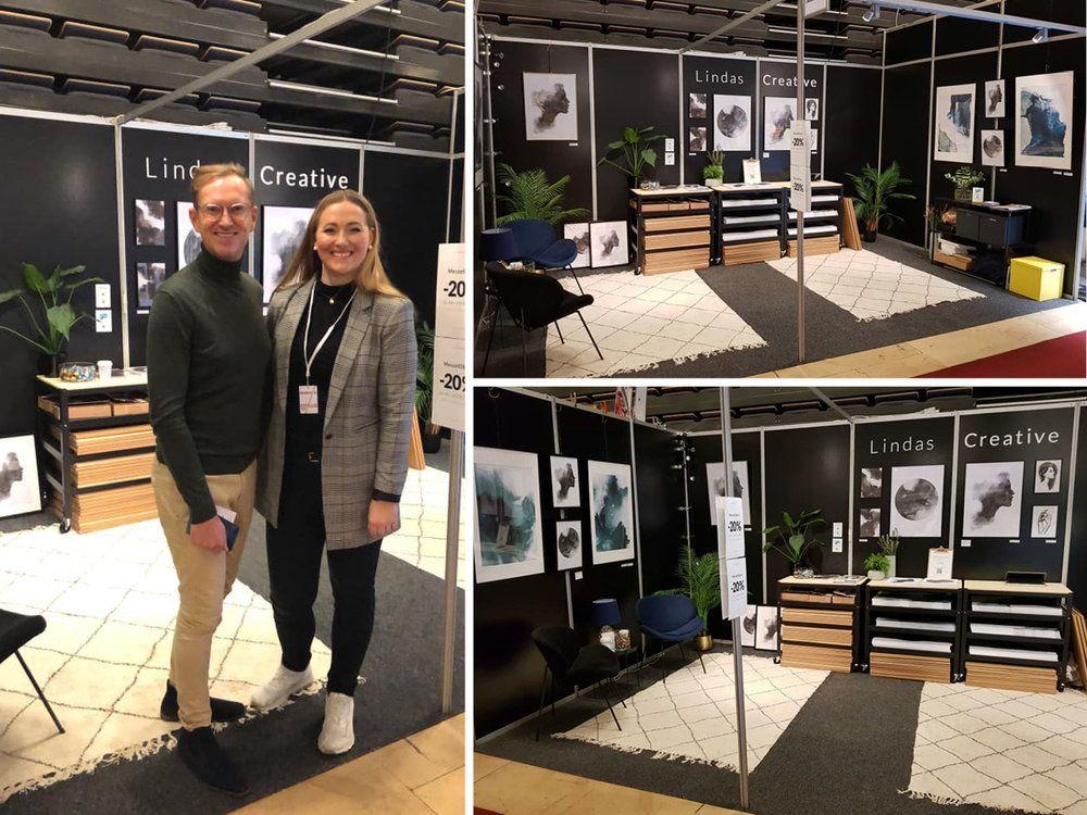 Boligmesse i Trondheim, 2018. Halvor Bakke og Linda Skaret