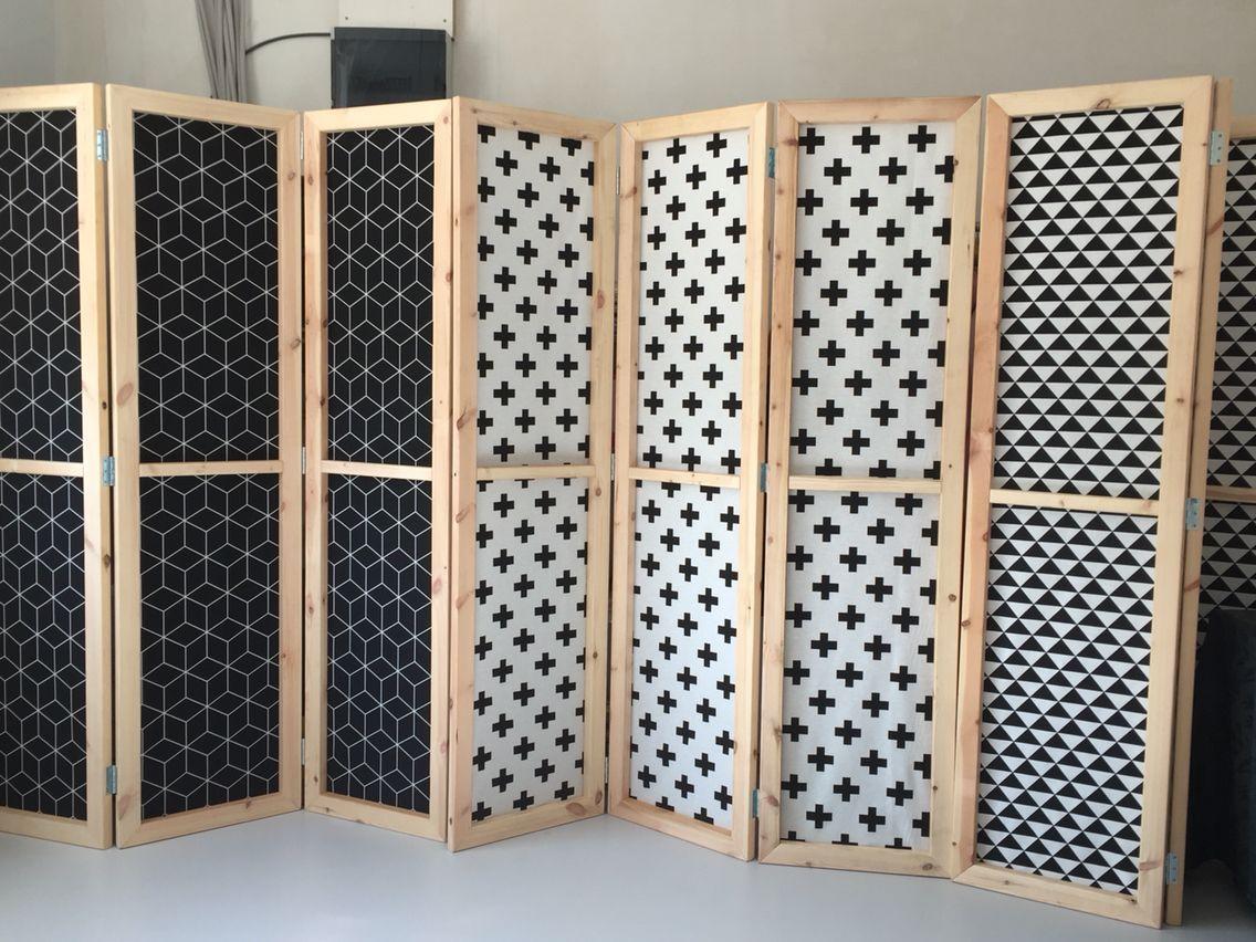 Paravent Diyroom Dividers Diy Room Divider Room Divider Screen Massage Room Design