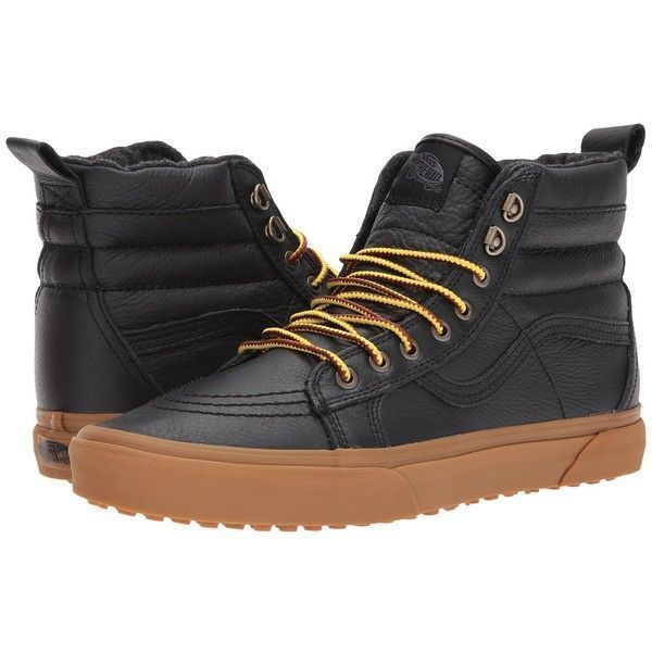 c02325ea0d6ee8 Footwear 50883  New - Vans Sk8-Hi Mte Shoes. Black Leather Gum. Men S Sizes  9