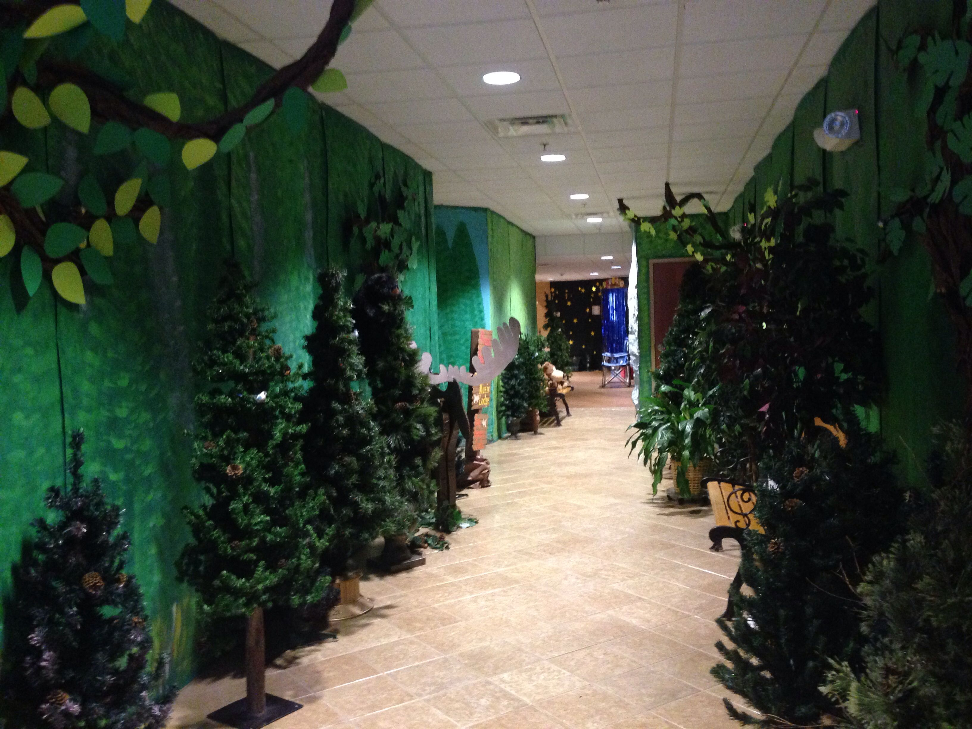 Exceptional Vbs Camping Theme Decorating Ideas Part - 7: Decorations For Sonrise National Park VBS 2014 First Baptist Church Of  Belfry