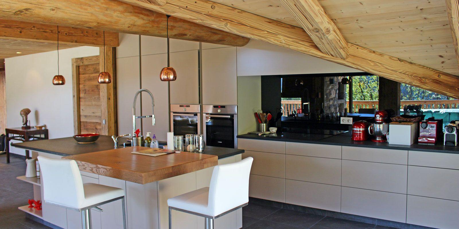 chalet moderne haute savoie | Cuisines | Pinterest | La clusaz ...