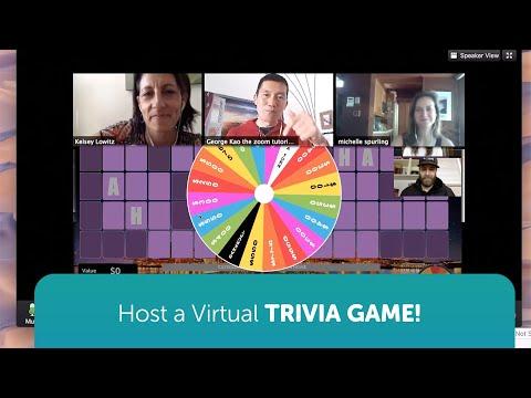 Using Zoom / Skype to host Virtual Trivia Games