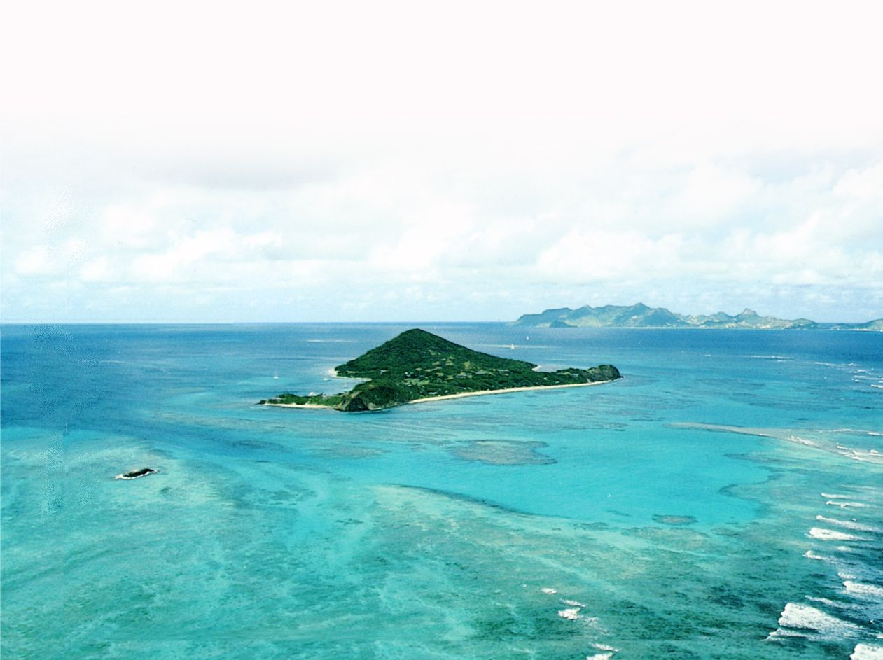 I want to go to there. Petit St Vincent.