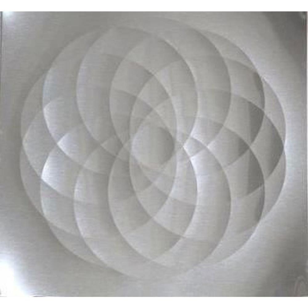 - Frigo Design 36 In. X 30 In. Stainless Steel Spheres Backsplash