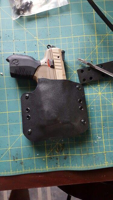 Custom Ruger Sr22 light bearing holster