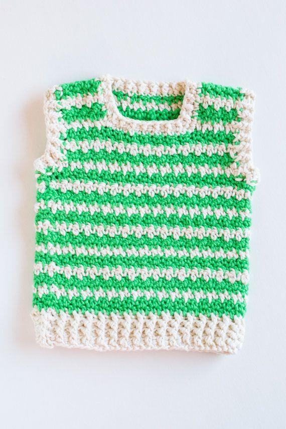 9f4fec539a6a CROCHET PATTERN Crochet Baby Sweater Green Dream Baby