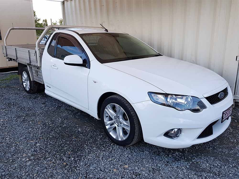 Ford Falcon Fg Xr6 Ute 2010 White Ford Falcon Ute Ford