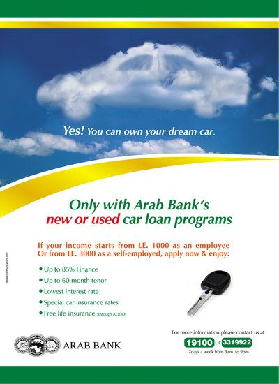 Federal Bank Car Loan Ad