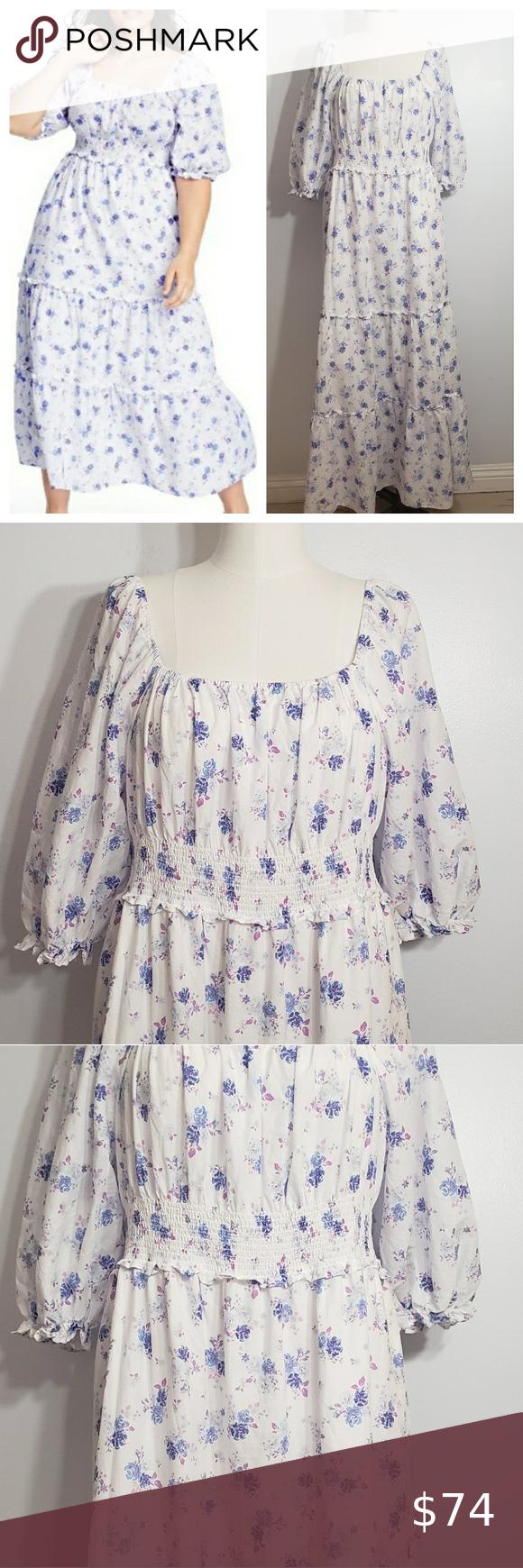 Loveshackfancy X Target Gemma Floral Maxi Dress Xl Floral Maxi Dress Blue Floral Maxi Dress Maxi Dress [ 1740 x 580 Pixel ]