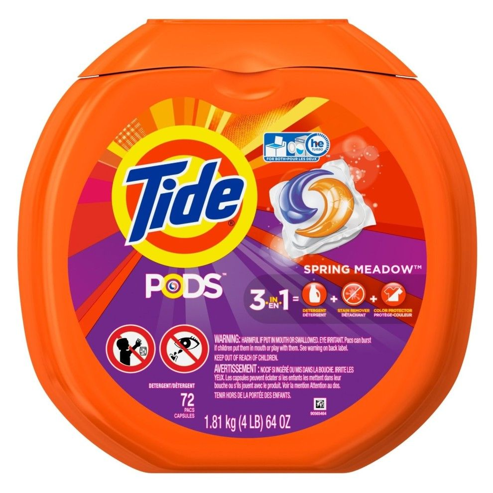 A Big Ol Pack Of Tide Pods To Mask All The Parties Your Clothes