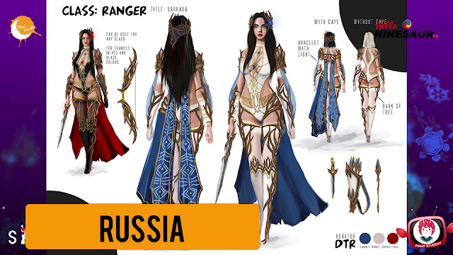 Black Desert Global Costume Design Contest 2018 Regionals Ninesaur Costume Design Costumes Design