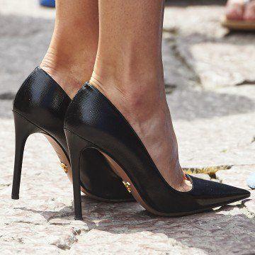 prada shoes funny heels stockings