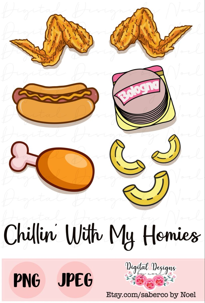 Chicken Wing Hot Dog And Baloney : chicken, baloney, Chicken, Wings, Macaroni, Sublimation, Transfer, Wings,, Song,