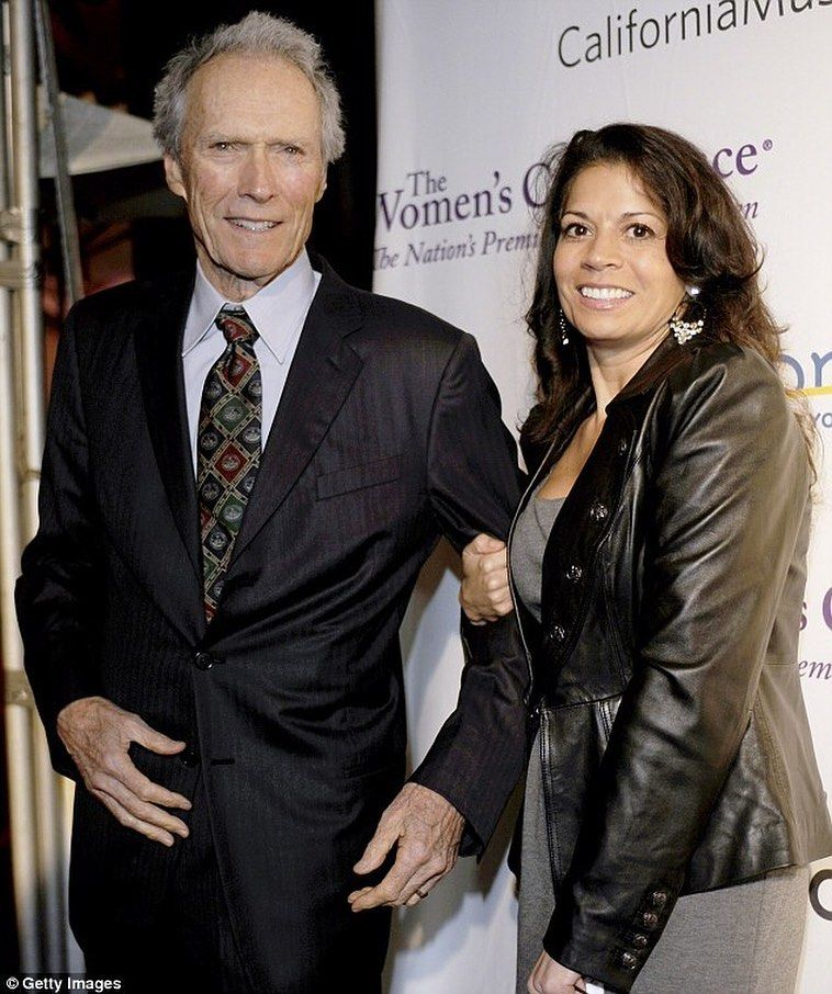 Clint Eastwood Fans On Instagram Clint Eastwood With Dina Ruiz