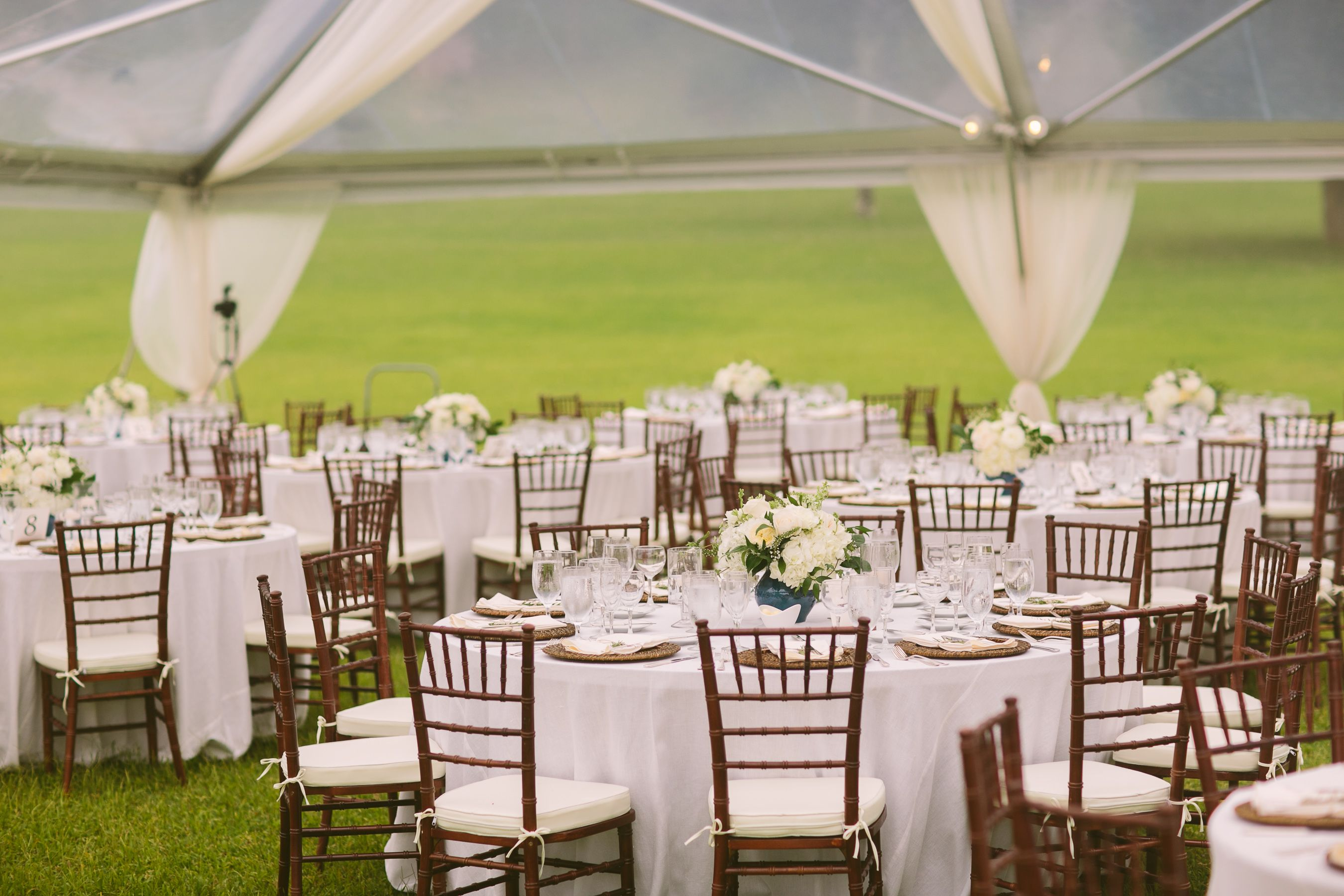 Fruitwood Chiavari Chairs for Reception Tables and Chairs