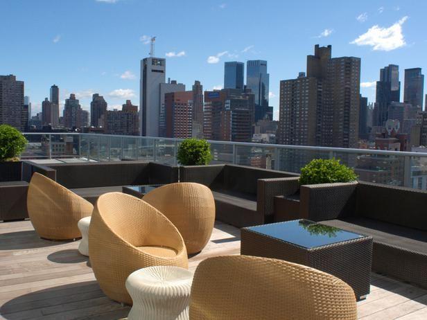 Rooftop Bar at Ink48k, NYC