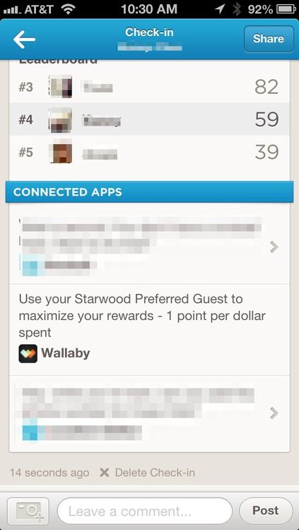 How to Maximize Credit Card Rewards With Foursquare