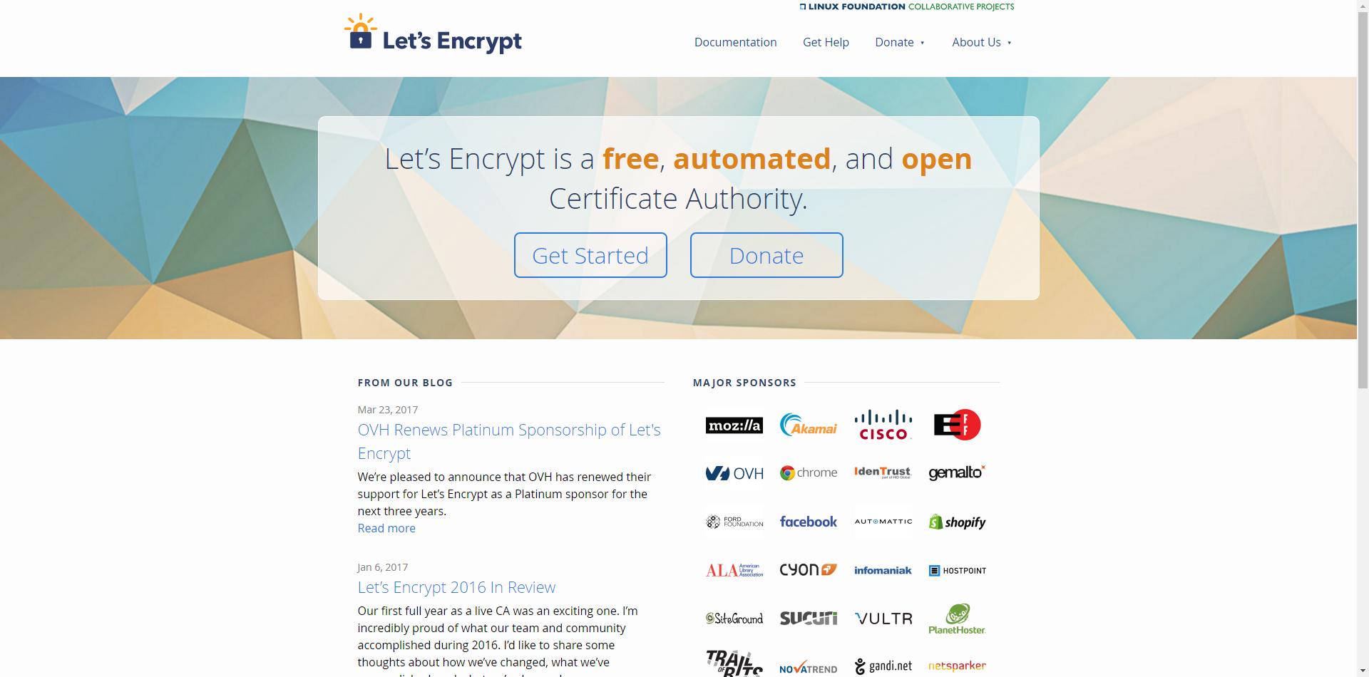 Lets Encrypt Free Ssltls Certificates Diseo Web Pinterest