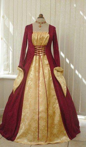 01f6344d2 Imágenes de Vestidos Medievales para Mujer