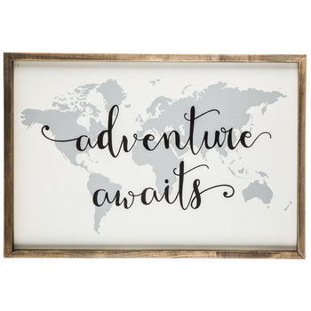 Adventure Awaits Map Wood Wall Decor Hobby Lobby 1294743 Travel Wall Decor Adventure Decor Metal Tree Wall Art
