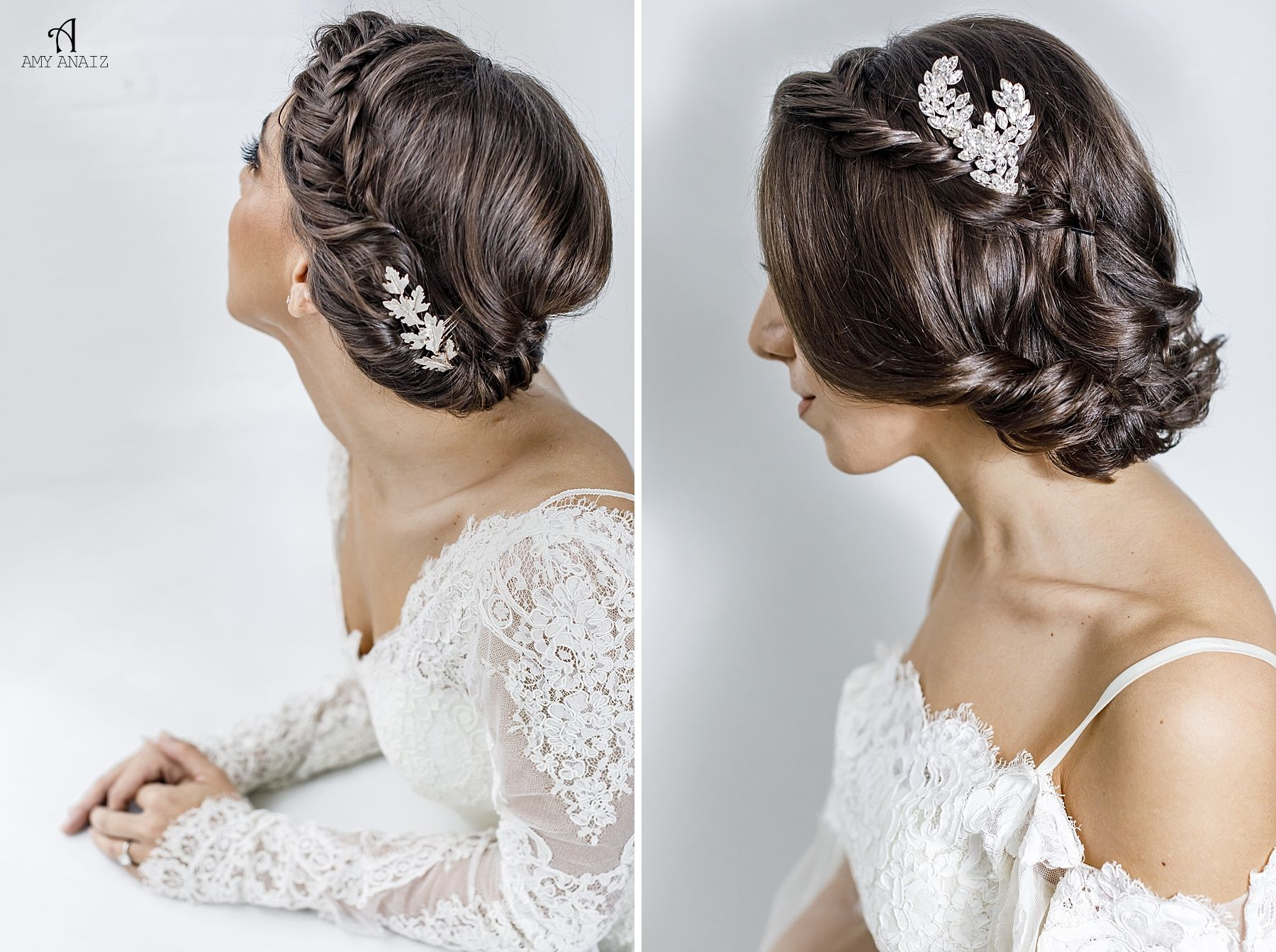 Short Hair Wedding Style Inspiration :: Amy Anaiz Photography ...
