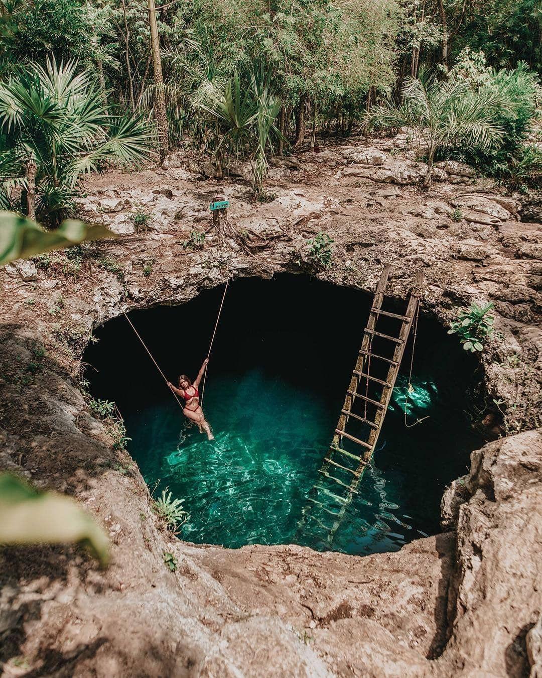 Cenote Calavera.