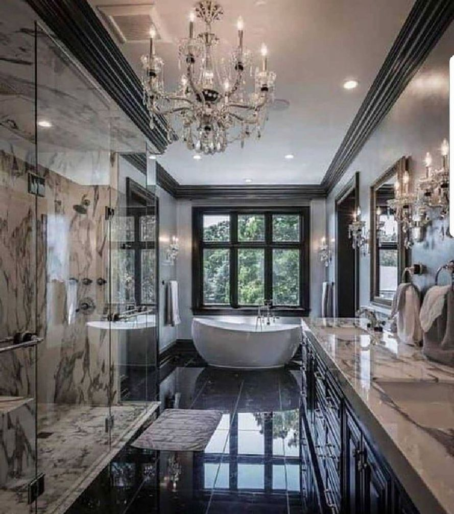 65 Luxury Homes Gorgeous Eclectic Dream Houses All About Custom And Luxury Homes In 2020 Luxury Homes Luxury Homes Dream Houses Bathroom Design Luxury