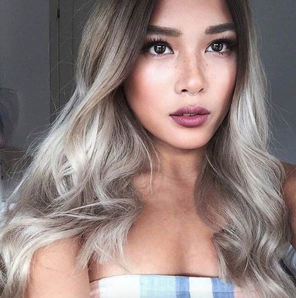120 Ways You Can Rock Platinum Blonde Hair With Minimal Damage Platinum Blonde Hair Blonde Asian Hair Brown Ombre Hair Color