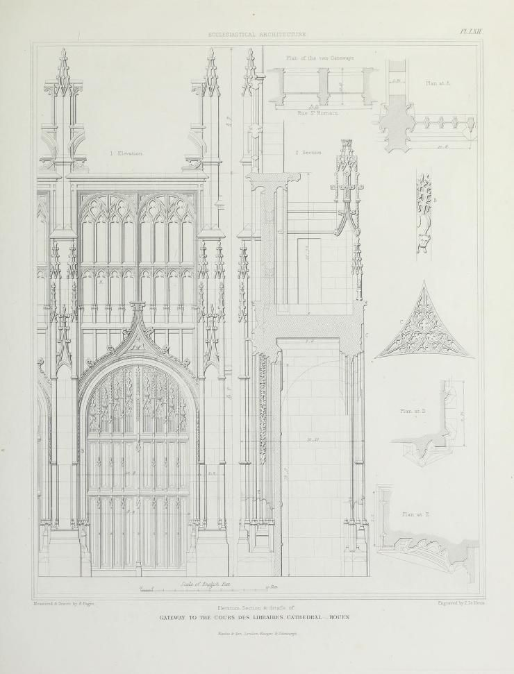 Specimens of the architecture of Normandy from