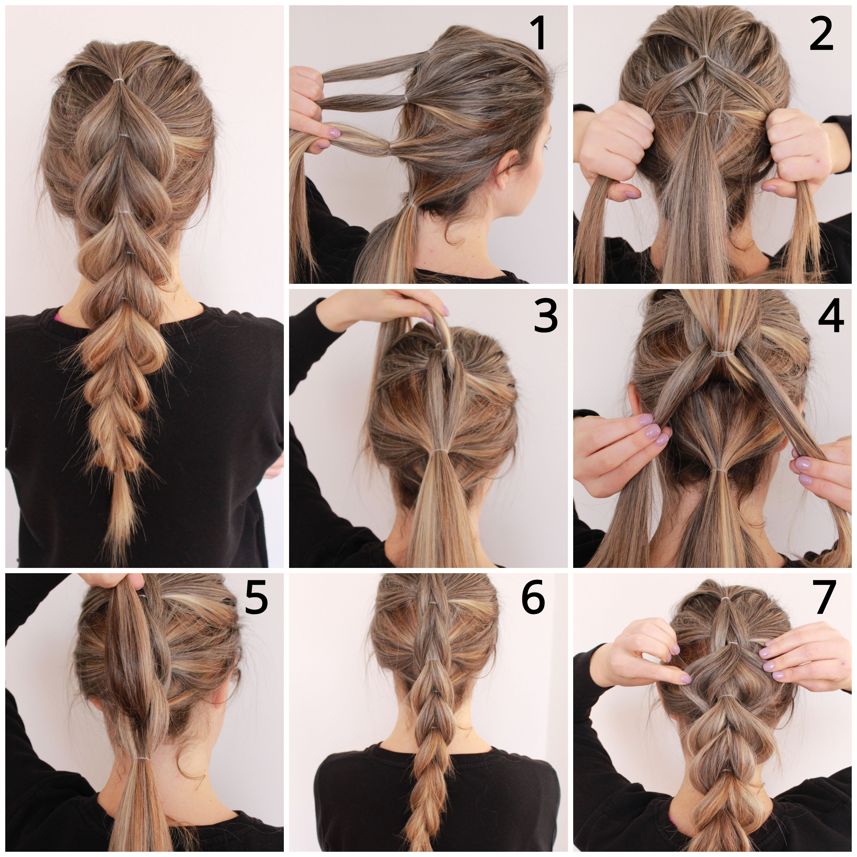 Several simple steps can create a gorgeous updo ha
