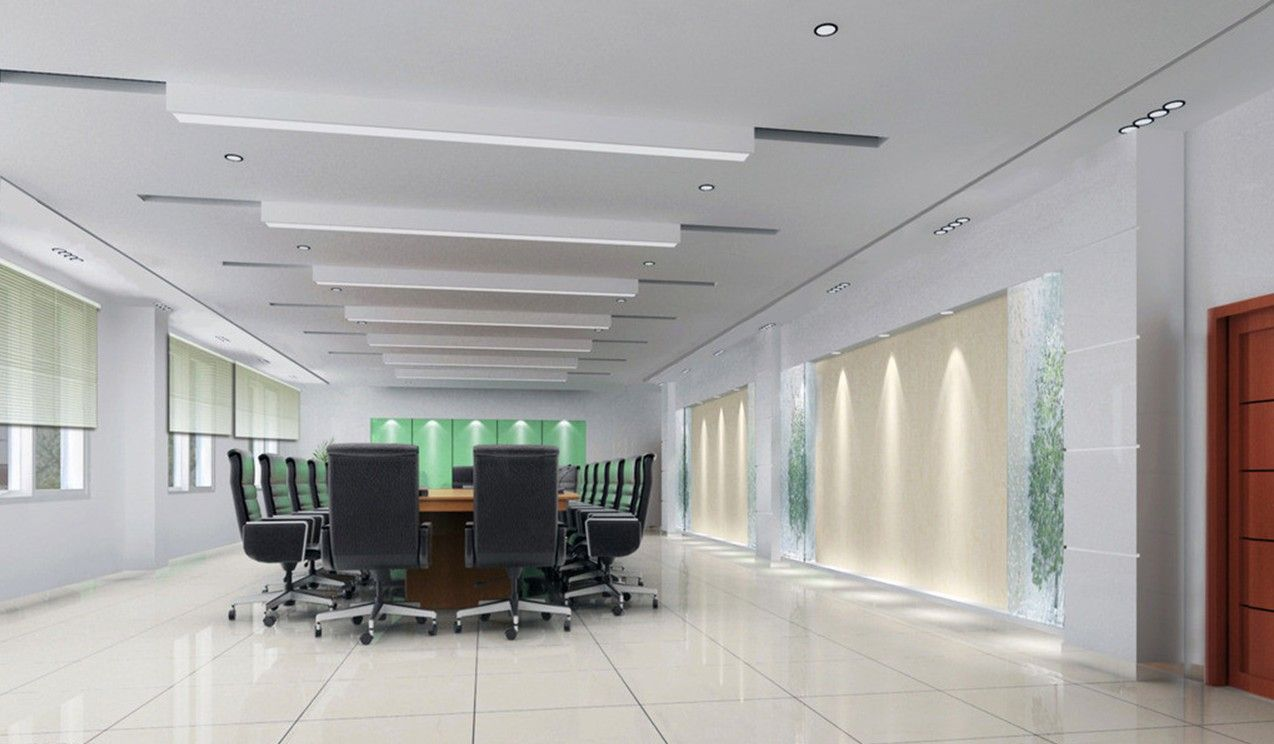 conference room ceiling and lighting 3d design jpg 1274 744