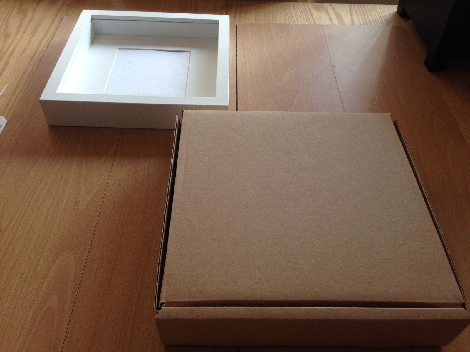 25 X 4 5cm Cardboard Packaging Postal Box For Ikea Deep Picture Frame Etc Ebay