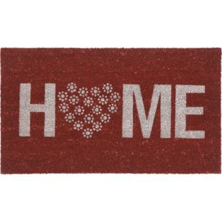 Buy Home Doormat 70 X 40cm Red At Argos Co Uk Your Online Shop For Rugs And Mats Rugs And Mats Door Mat Home