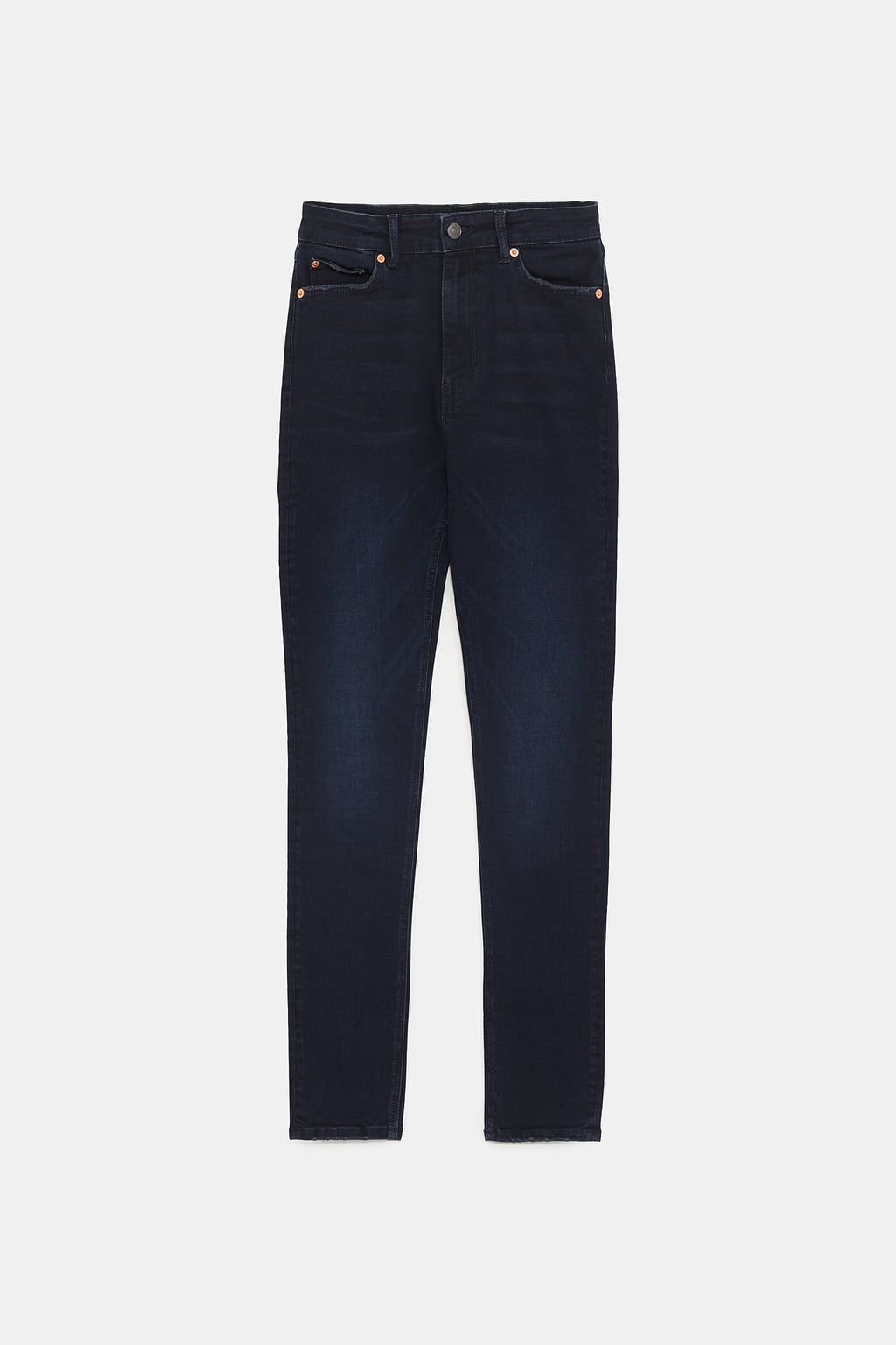 4f990c2c Blue black zw premium high waist skinny jeans in 2019   Beauty voice ...