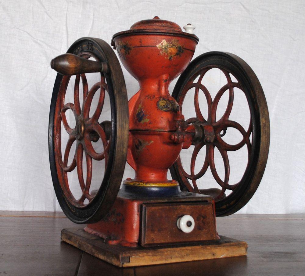Old Coffee Grinder Restoration