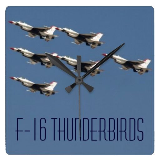 USAF Thunderbird F16 Flying Fighter Jet Squadron $31.95 USAF Thunderbirds, America's Ambassadors in Blue. F-16 Jets training out of Nellis AFB in Las Vegas, Nevada. The F-16 Fighting Falcon is a compact, multi-role fighter aircraft. It is highly maneuverable and has proven itself in air-to-air combat and air-to-surface attack. It provides a relatively low-cost, high-performance weapon system for the United States and allied nations. Read more at www.AF.mil