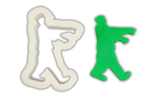 Walking Zombie Cookie Cutter - LARGE - 4 Inches @ niftywarehouse.com #NiftyWarehouse #Zombie #Horror #Zombies #Halloween