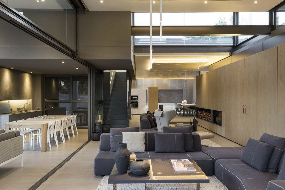 Encapsulating Luxury and Functionality: Contemporary House Sar in Johannesburg
