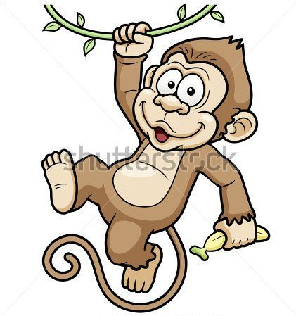 d0bd88bc05a1f tattoo on the topic monkey hanging a branch and a banana tattoo design .