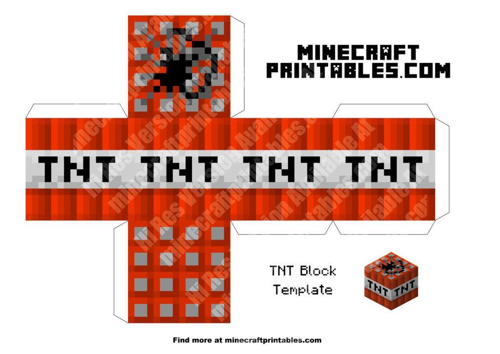 minecraft printable blocks # 5