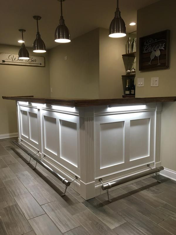 Home Bar Designs Small Man Cave