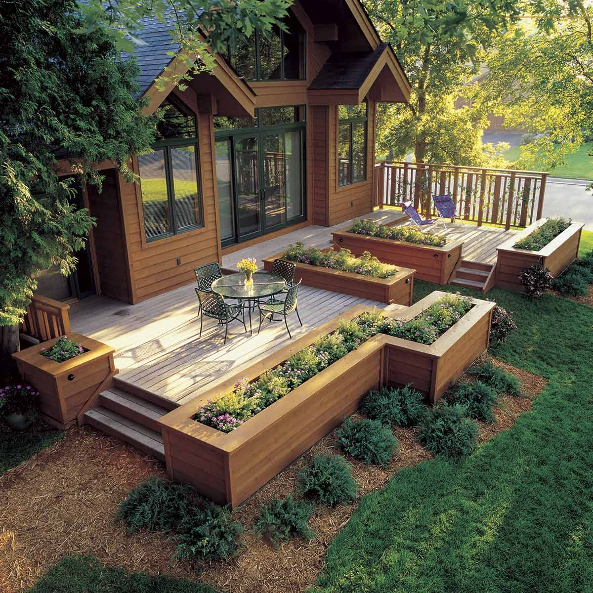 14 DIY Deck Add-Ons That are Seriously Cool | Backyard ... on Add On Patio Ideas  id=81417