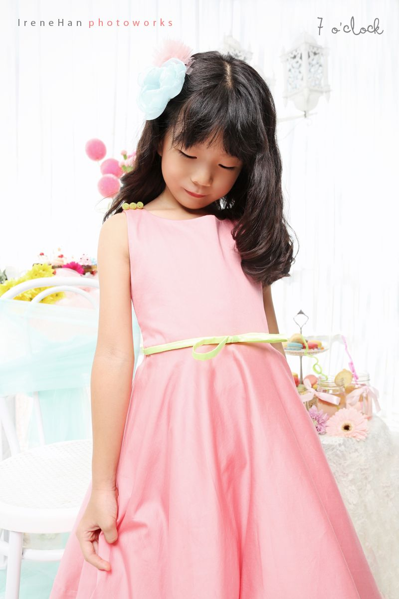 Peachy Punch Dress   7 o\'clock couture   7 o\'clock Couture   Pinterest