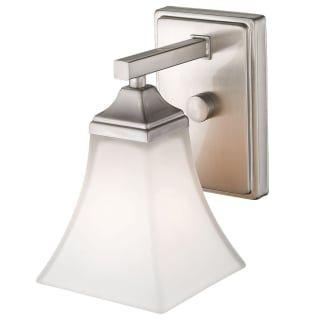 Photo of Millennium Lighting 631-BN Brushed Nickel Single Light 6″ Wide Bathroom Sconce