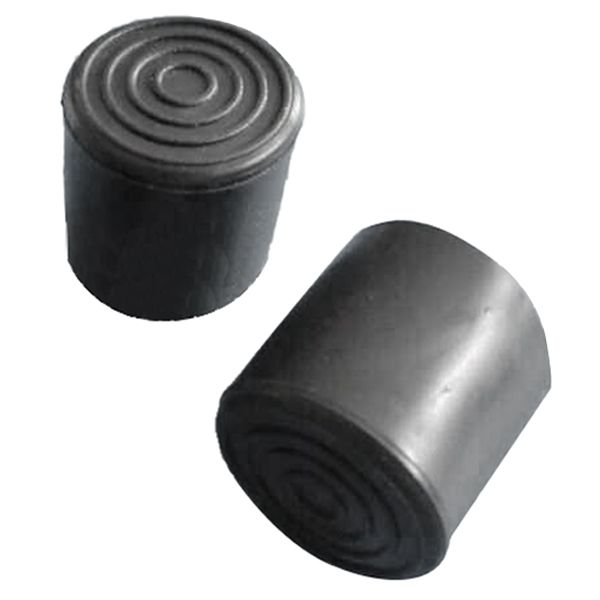 Rubber Furniture Crutch Feet Stool Chair Leg Tip Pad 4pcs Black Stool Chair Chair Legs Footstool