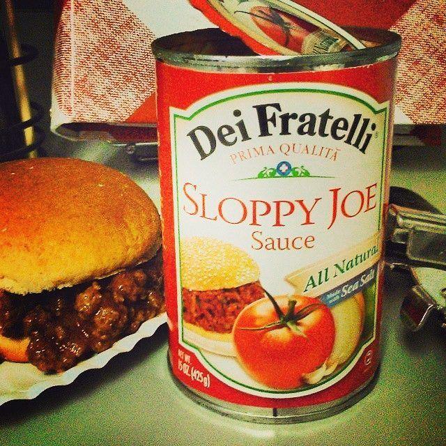 Sloppy Joe never had it so good. #NotYourAverageJoe  #SloppyJoe #Tomatoes #Peppers #Onion #Pepper #Garlic #Sandwich #FoodKidsLove #Food #Love #Foodie #Yum