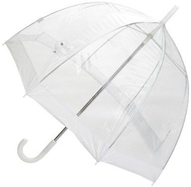 la meilleure attitude 3da92 eb2c2 Un parapluie transparent et solide pour ne pas gâcher les ...