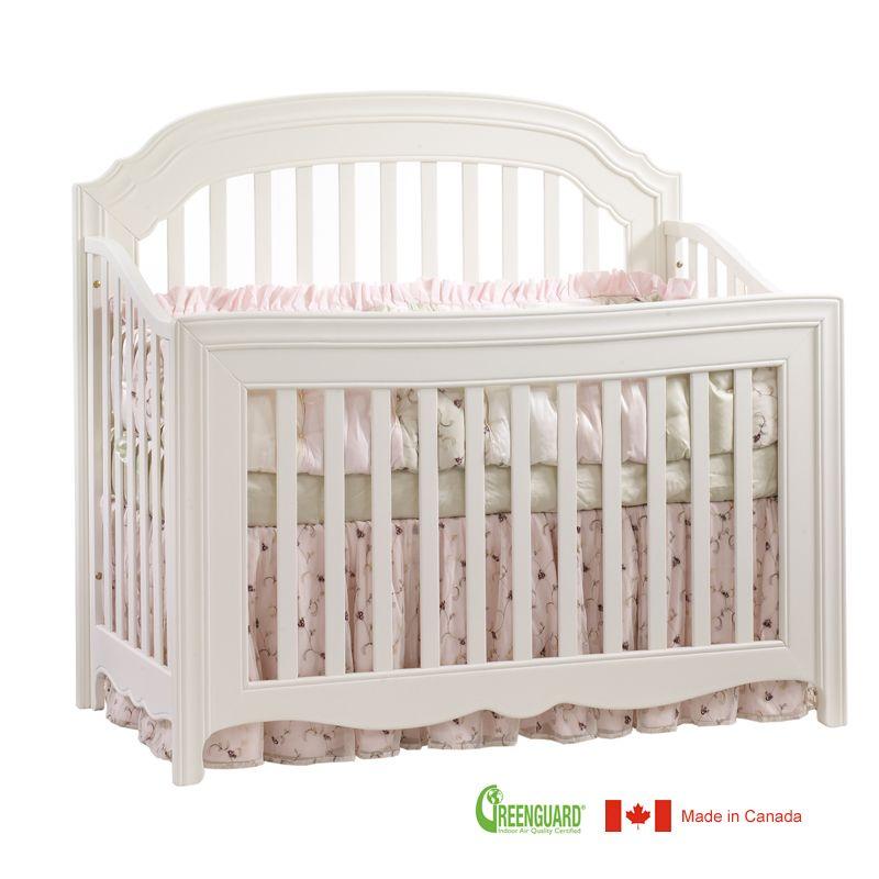 Natart allegra 4 in 1 convertible crib in french white natart is a